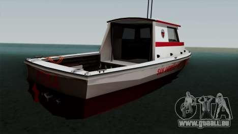 FDSA Reefer pour GTA San Andreas laissé vue