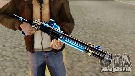 Fulmicotone Chromegun für GTA San Andreas dritten Screenshot