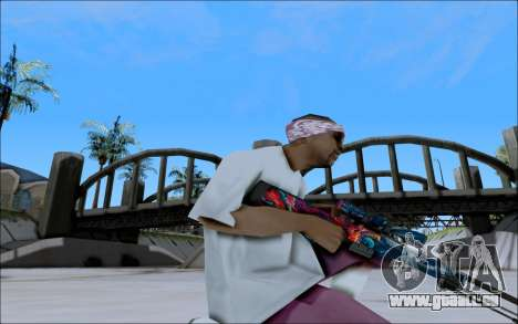 AWP Hyper Beast für GTA San Andreas dritten Screenshot