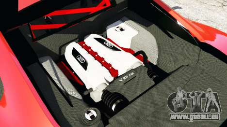 GTA 5 Audi R8 GT 2011 v0.5 [Beta] hinten rechts