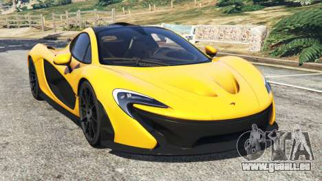 McLaren P1 2014 für GTA 5