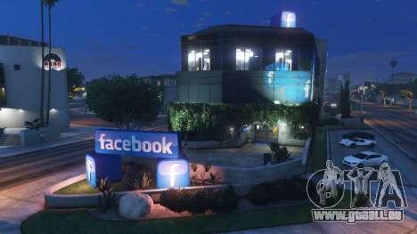 GTA 5 Aufbau des sozialen Netzwerks Facebook zweite Screenshot