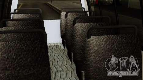 Fly Us Airport Bus pour GTA San Andreas vue de droite