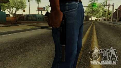 AP Pistol with Supressor pour GTA San Andreas troisième écran