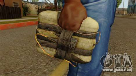 Original HD Satchel für GTA San Andreas dritten Screenshot