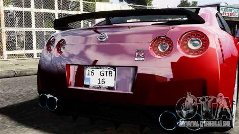 Nissan GT-R AMS 2012 für GTA 4 rechte Ansicht