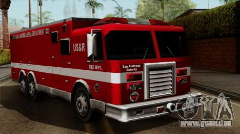 FDSA Urban Search & Rescue Truck für GTA San Andreas