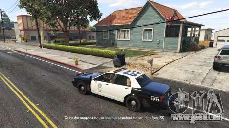 GTA 5 Arrest Peds V (Police mech and cuffs) quatrième capture d'écran