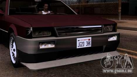 Nouveaux phares pour GTA San Andreas troisième écran