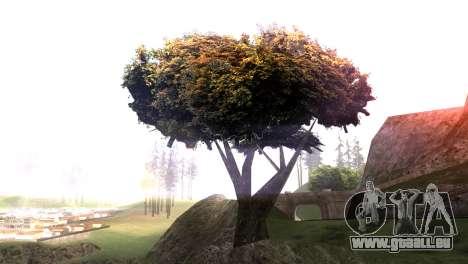 Vegetation Original Quality v3 pour GTA San Andreas deuxième écran