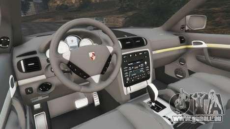 GTA 5 Porsche Cayenne Turbo S 2009 v0.7 [Beta] hinten rechts