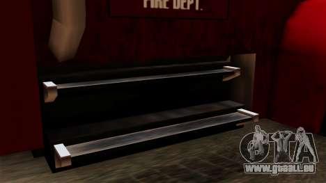 FDSA Mobile Command Post Truck für GTA San Andreas Rückansicht