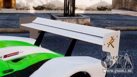 Radical SR8 RX 2011 pour GTA 4 Vue arrière