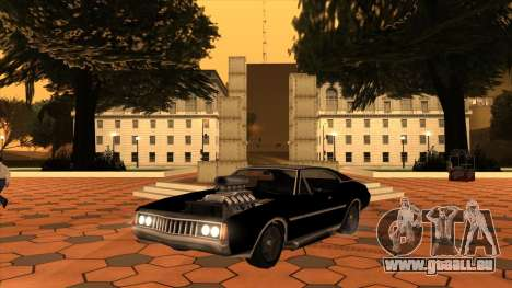 Muscle-Clover [BETA V.1] pour GTA San Andreas