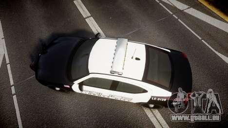 Dodge Charger Police Liberty City [ELS] für GTA 4 rechte Ansicht