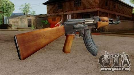 Original HD AK-47 pour GTA San Andreas troisième écran