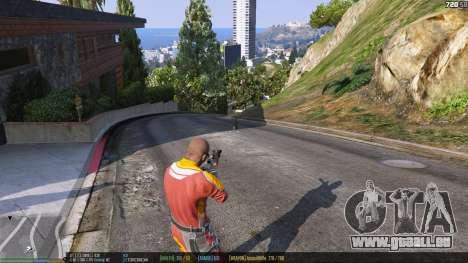 GTA 5 La barre d'état v. 0.1 quatrième capture d'écran