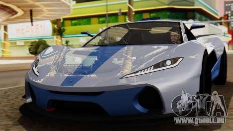 Progen T20 GTR für GTA San Andreas