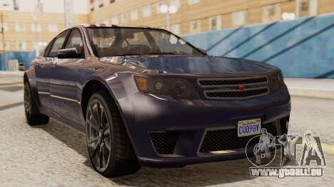 GTA 5 Cheval Fugitive IVF pour GTA San Andreas