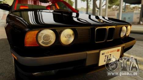 BMW 535i E34 1993 pour GTA San Andreas vue de droite