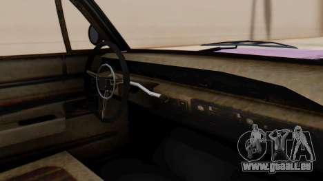 GTA 5 Declasse Voodoo Worn für GTA San Andreas rechten Ansicht