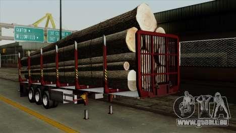 Trailer Fliegl v1 für GTA San Andreas