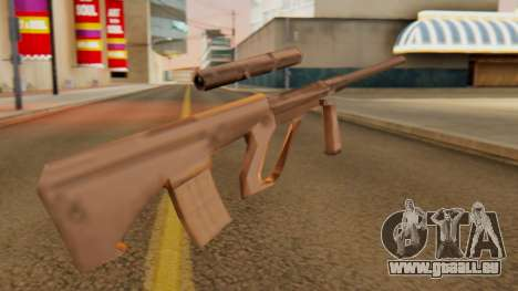 Steyr AUG from GTA VC Beta pour GTA San Andreas deuxième écran