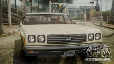 GTA 5 Dundreary Regina IVF pour GTA San Andreas vue de droite