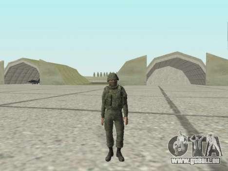 Pak-Kämpfer von speziellen Truppen von GRU für GTA San Andreas elften Screenshot