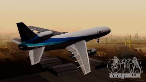 Lockheed L-1011 TriStar All Nippon Airways pour GTA San Andreas laissé vue