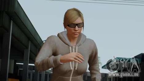GTA 5 Online Female02 pour GTA San Andreas