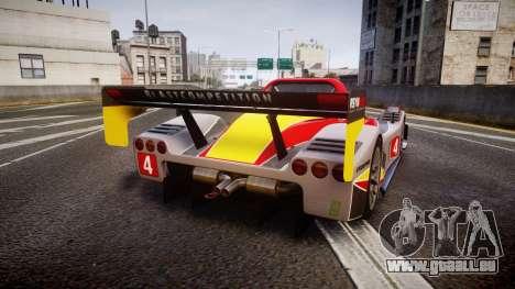 Radical SR8 RX 2011 [4] für GTA 4 hinten links Ansicht
