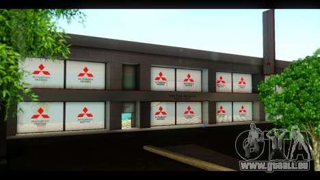 Die Mitsubishi Motors Autohaus für GTA San Andreas