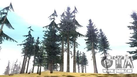 Vegetation Original Quality v3 pour GTA San Andreas troisième écran