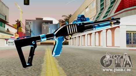 Fulmicotone Chromegun für GTA San Andreas zweiten Screenshot