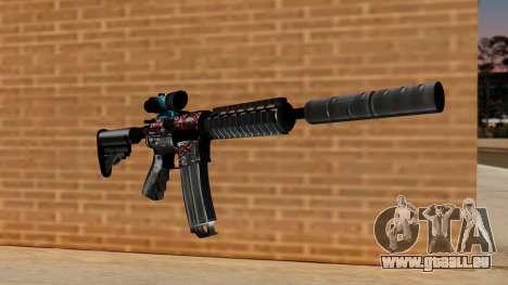 M4A1 UASS pour GTA San Andreas