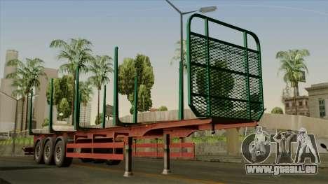Trailer Cargos ETS2 New v1 pour GTA San Andreas