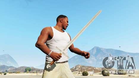 GTA 5 L'Épée Excalibur