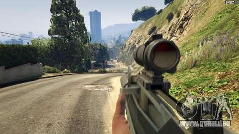 GTA 5 Battlefield 4 Famas cinquième capture d'écran