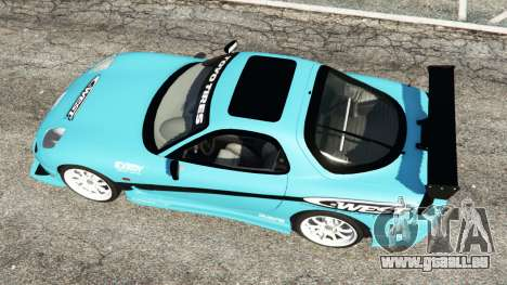 Mazda RX-7 C-West v0.1 pour GTA 5
