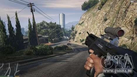 GTA 5 Carabine Bulldog sixième capture d'écran