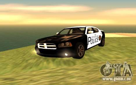 Dodge Charger Super Bee 2008 Vice City Police für GTA San Andreas