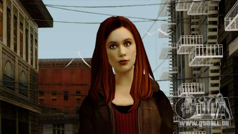 Amy Pond from Doctor Who für GTA San Andreas