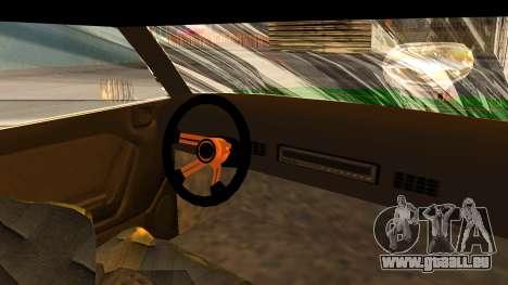 New Sabre Devil pour GTA San Andreas sur la vue arrière gauche