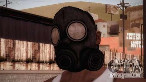 Mascara de Gas pour GTA San Andreas troisième écran