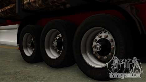 Trailer Fliegl v2 pour GTA San Andreas sur la vue arrière gauche