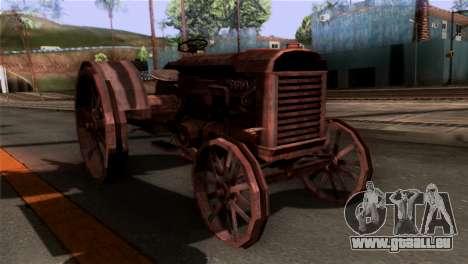 GTA 5 Rusty Tractor für GTA San Andreas