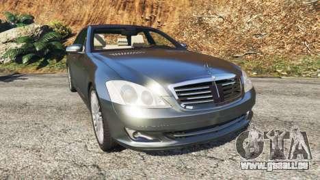 Mercedes-Benz S500 W221 v0.2 [Alpha] für GTA 5