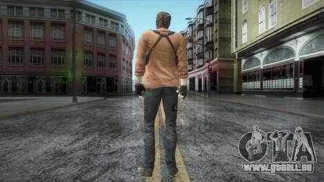 New Jhon Albert Wesker from Resident Evil pour GTA San Andreas troisième écran