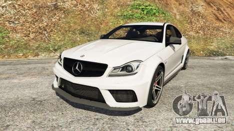 Mercedes-Benz C63 AMG 2012 für GTA 5